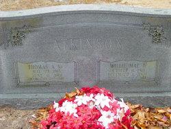 Willie Mae <I>Barfield</I> Atkinson