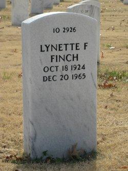 Lynette F Finch
