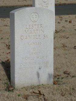 Lester Martin Gamble, Sr