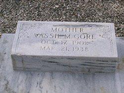 Vassie Mae <I>Holleman</I> Gore