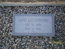 Annie Lee Lunsford