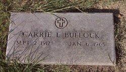 Carrie L Bullock