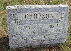 Lillian B <I>Clutter</I> Chopson