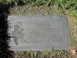 Mary Edith <I>Carpenter</I> Ballinger