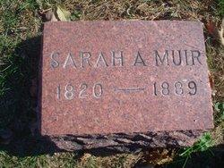 Sarah A Muir