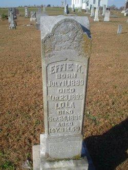Effie K McCullom