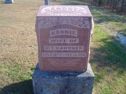 Nannie <I>Powell</I> Gardner