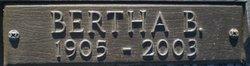 Bertha B. Gordon