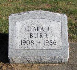 Clara L. <I>Hagen</I> Burr