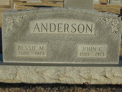 Bessie May <I>Hicks</I> Anderson