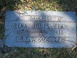 Rena <I>Jones</I> Bean