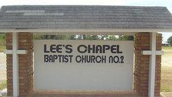 Lee's Chapel # 2 Baptist Church Cemetery
