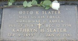 "Otto Karl ""Buster"" Slater"