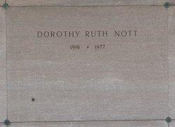 Dorothy Ruth <I>Pardee</I> Nott