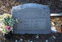 Beatrice Carroll <I>Newsome</I> Wright
