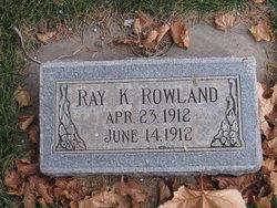 Ray K Rowland