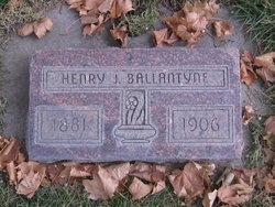 Henry John Ballantyne