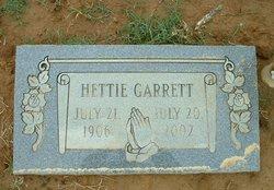 Hettie <I>Bobo</I> Garrett