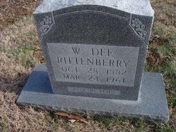 W Dee Rittenberry