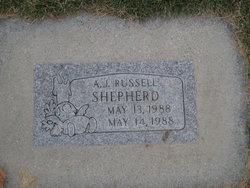A J Russell Shepherd