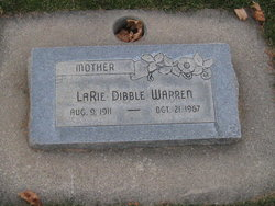 LaRie <I>Dibble</I> Warren