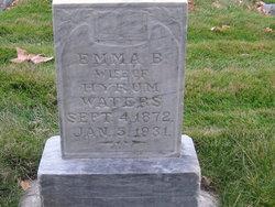 Emma <I>Bowers</I> Waters