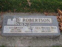Cecil Marjorie <I>Nash</I> Robertson