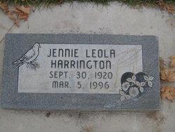 Jennie Leola Harrington