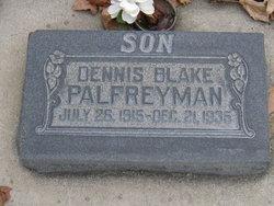 Dennis Blake Palfreyman