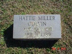 Hattie <I>Miller</I> Colvin