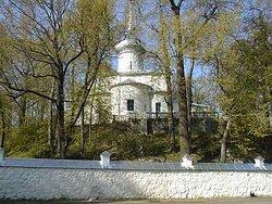 Svyatogorsk monastery Cemetery
