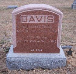 Anna L <I>Gillan</I> Davis