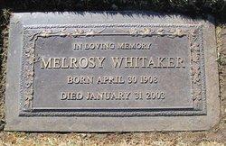 Melrosy Whitaker