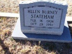 Helen <I>Burney</I> Stateham