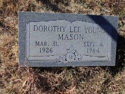 Dorothy Lee <I>Young</I> Mason