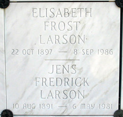 Jens Fredrick Larson