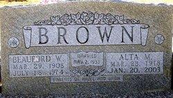 Alta Marie <I>Davis</I> Brown