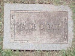 Maude Doris <I>Surber   Ball</I> Rice