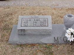 Leslie Earl McGroom, Sr
