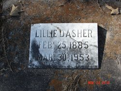Lillie Mae <I>Zeigler</I> Dasher