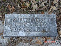 Dahlia H. Dasher