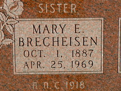"Mary Elizabeth ""May"" <I>Langley</I> Brecheisen"