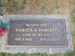 Rebecca Ann <I>Warhurst</I> Hargett