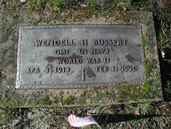 Wendell Harrison Bussert