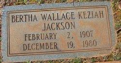 Bertha <I>Wallace</I> Jackson