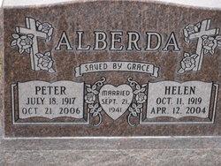 Helen <I>Anderson</I> Alberda