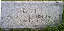 Margaret <I>Koehler</I> Balliet