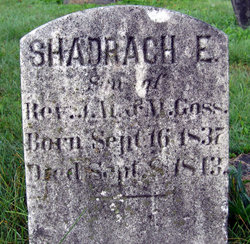 Shadrach E. Goss