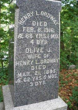 Olive J Ordway