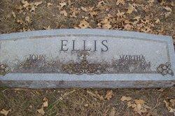 Martha <I>Yoakum</I> Ellis